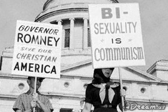 Bi-Sexuality Is Communism - Governor Romney, Save Our Christian America