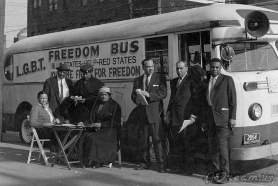 LGBT Freedom Bus