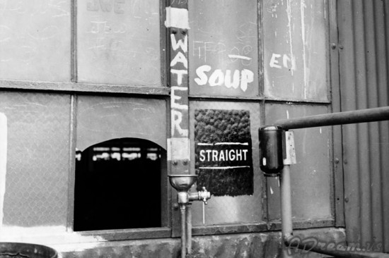 Straight Water And Soup Kitchen