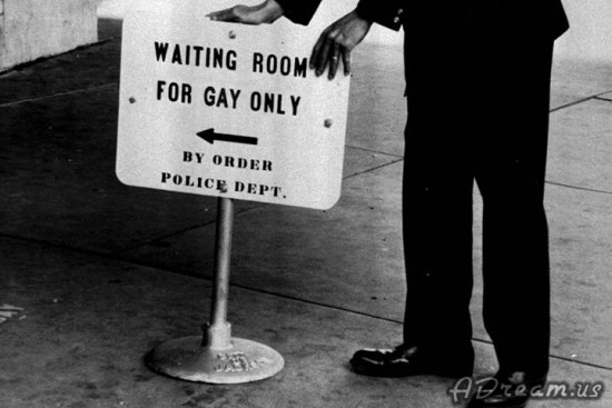 Waiting Room For Gay Only